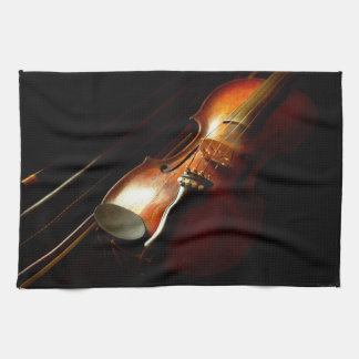 Music - Violin - The classics Kitchen Towel