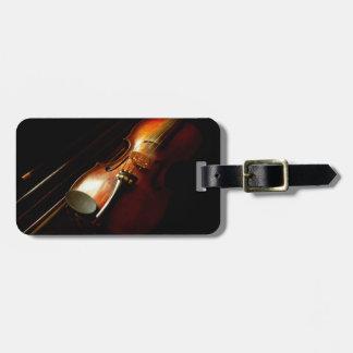 Music - Violin - The classics Luggage Tag