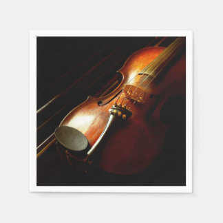 Music - Violin - The classics Paper Napkin