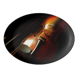 Music - Violin - The classics Porcelain Serving Platter