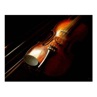 Music - Violin - The classics Postcard