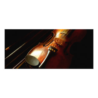 Music - Violin - The classics Rack Card