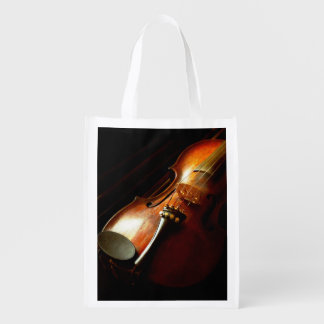 Music - Violin - The classics Reusable Grocery Bag