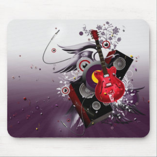 music-wallpaper mouse pad