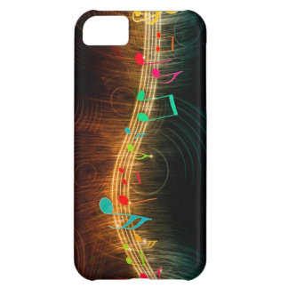 Music wave case for iPhone 5C