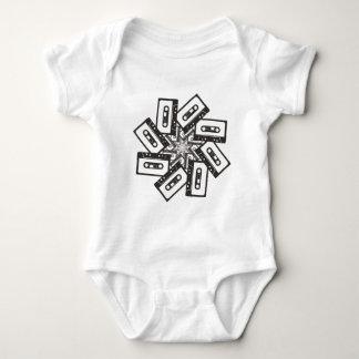 Music Whirl Baby Bodysuit