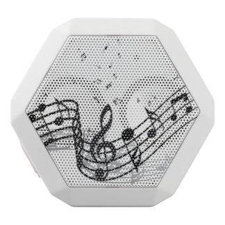 Music White Bluetooth Speaker