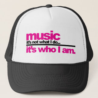 Music - Who I Am Trucker Hat