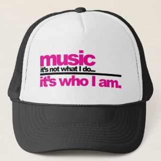 Music - Who I Am Trucker Hat