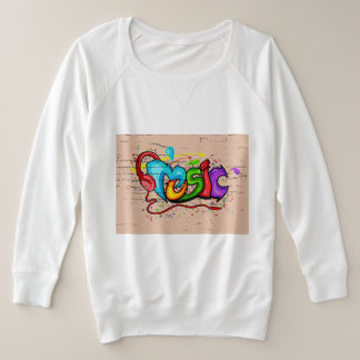 music with art colourful tshirt