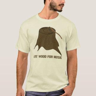 Music Wood T-Shirt