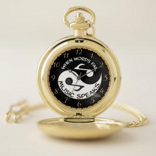 Music words harmony lyrics Yin and Yang Pocket Watch