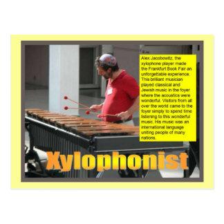 Music,  Xylophonist Postcard