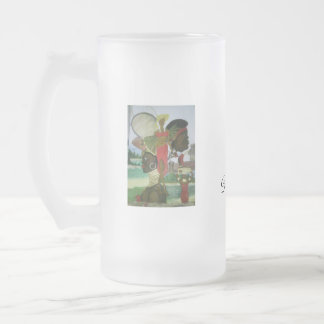 MUSIC ZOUK FROSTED GLASS BEER MUG