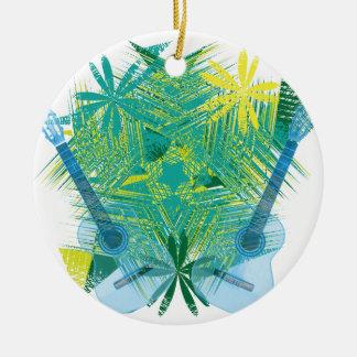 musica ceramic ornament