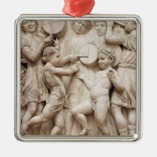 Musical angels, relief from the Cantoria Metal Ornament