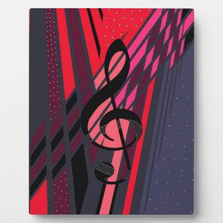 Musical Art Dimensions Plaque
