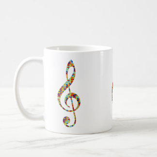 Musical Autism Awareness Coffee Mug