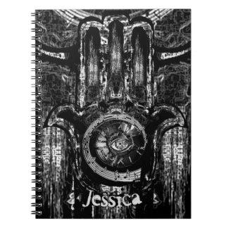 Musical Awakening (Blk&White) Notebooks