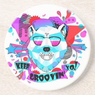 Musical Bear Coaster
