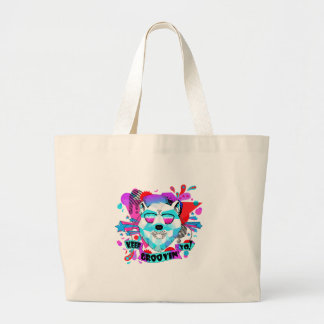 Musical Bear Large Tote Bag