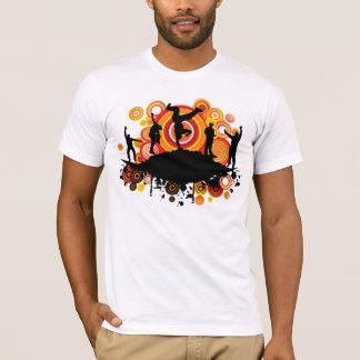 MUSICAL Break Dance Funky T-Shirt