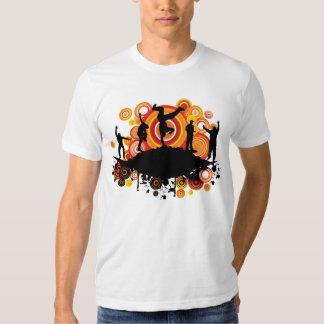 MUSICAL Break Dance Funky T-shirts