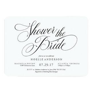 Musical Bridal Shower Invitation