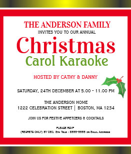 Karaoke Party Invitations Announcements Zazzle Ca