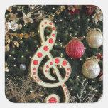 Musical Christmas Sticker