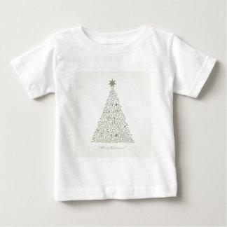 Musical Christmas tree Baby T-Shirt