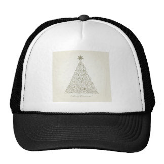 Musical Christmas tree Trucker Hat