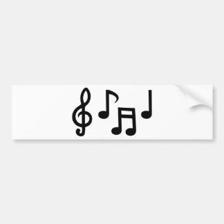 Musical comedy You notice Bumper Sticker