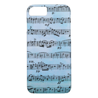musical compostion Case-Mate iPhone case