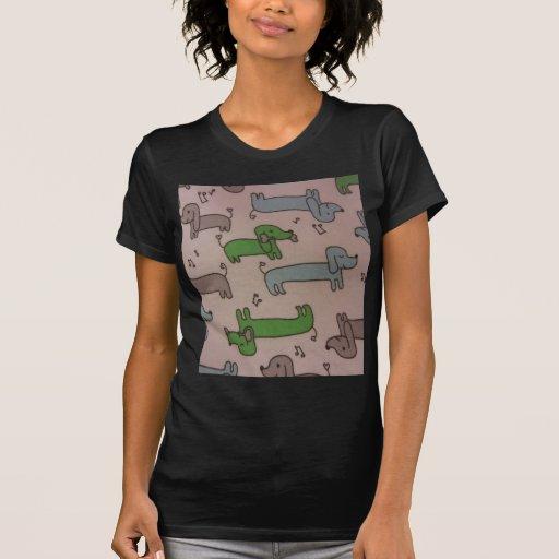 Musical Dachshunds Shirts