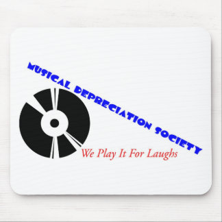 Musical Depreciation Society Mouse Pad