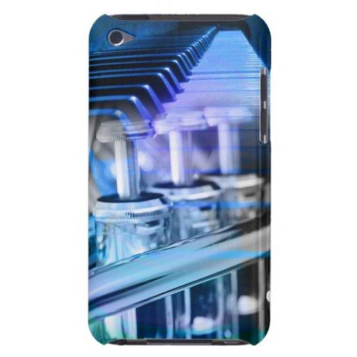 Musical Duet Blue iPod Case-Mate Case