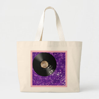 Musical environment large tote bag