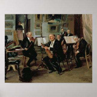 Musical Evening, 1906 Poster