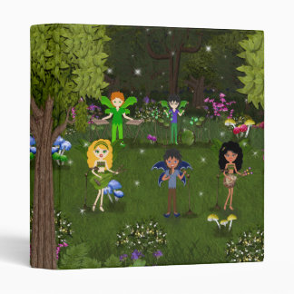 Musical Faerie Band in Enchanting Forest Binders