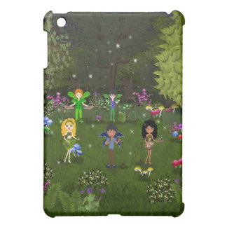 Musical Faerie Band in Enchanting Forest iPad Mini Covers