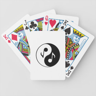 Musical Fusion Bicycle Playing Cards