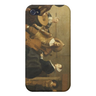 Musical Gathering by Pieter Symonz Potter Case For The iPhone 4
