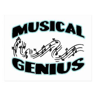 Musical Genius Postcard