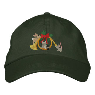 Musical Holidays Embroidered Hat