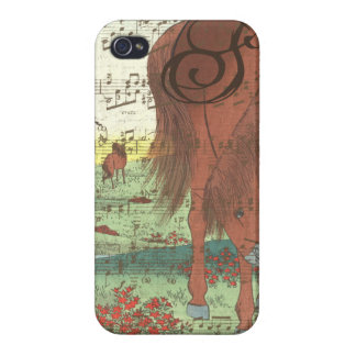 Musical Horse Monogram iPhone Case