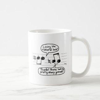 Musical Humour Cartoon Coffee Mugs