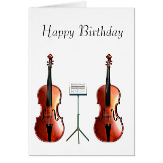 Musical image for Birthday Greeting Card