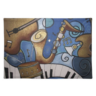 Musical Instrument Placemat