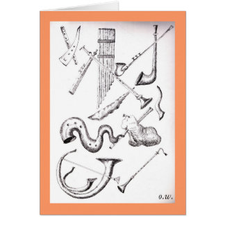 musical instruments3 wind card